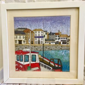Falmouth Harbour Cross stitch kit