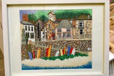 Coastal Stitch Kits: Ideal to frame and display