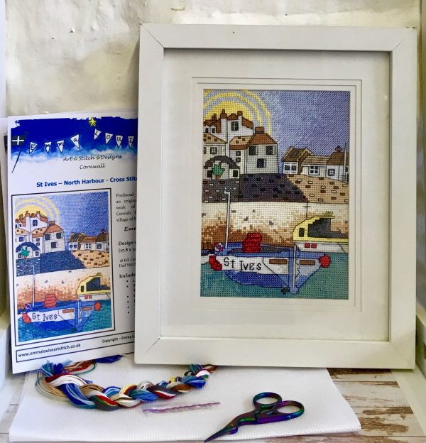 St Ives cross stitch kit