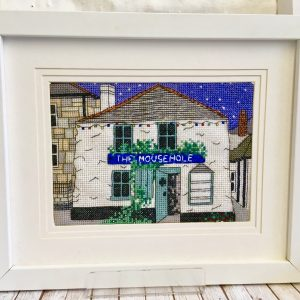 The mousehole shop cross stitch kit