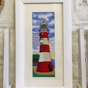 Plymouth lighthouse cross stitch kit