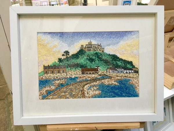 S 5 Michaels mount cross stitch kit Cornwall