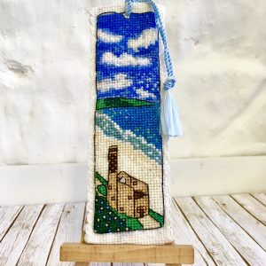 Cornwall tin mine cross stitch poldark