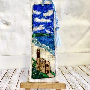 Cornwall tin mine cross stitch poldark