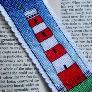 Gribbin Daymark bookmark cross stitch kit