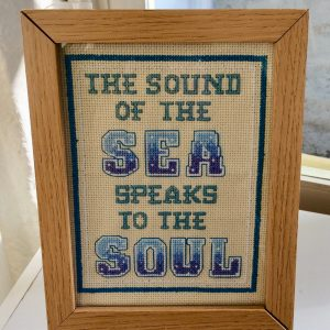 Sound of the sea the sea cross stitch kit