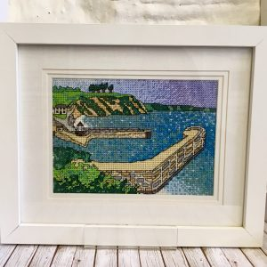 Charlestown harbour cross stitch kit