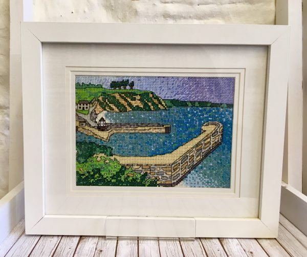 Charlestown harbour cross stitch kit