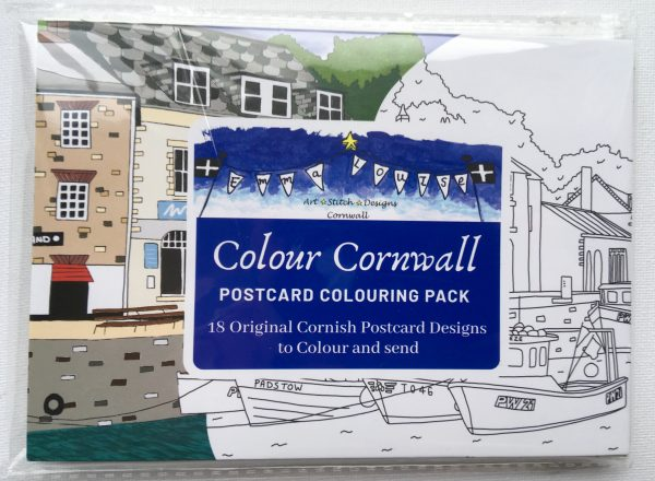 Colour Cornwall - Cornwall Colouring Postcards