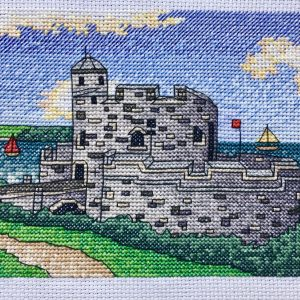 St Mawes Castle Cross Stitch Kit , Cornwall Cross Stitch