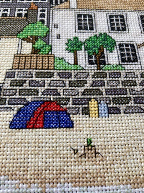 St Ives cross stitch kit