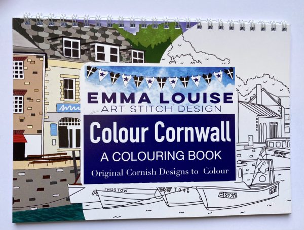 Cornwall Colouring Book