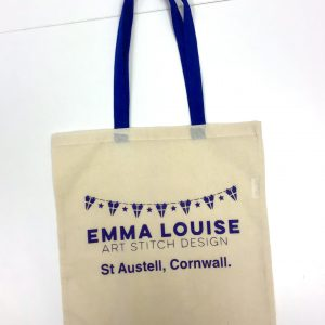 Tote bag for cross stitch